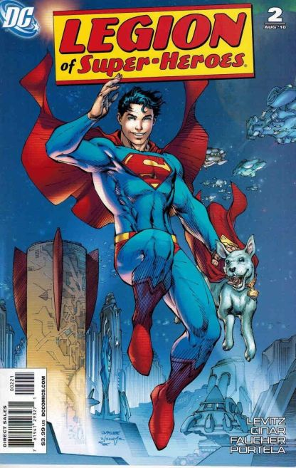 Legion of Super-Heroes #2 Jim Lee Variant