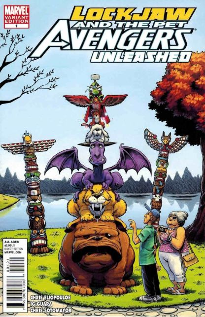 LockJaw and the Pet Avengers Unleashed #1 Roger Langridge Variant