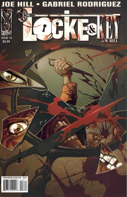 Locke & Key: Welcome to Lovecraft #3 First Printing