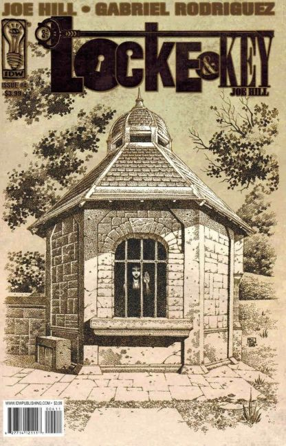 Locke & Key Welcome to Lovecraft #4 1st Print Gold Foil Variant IDW 2008