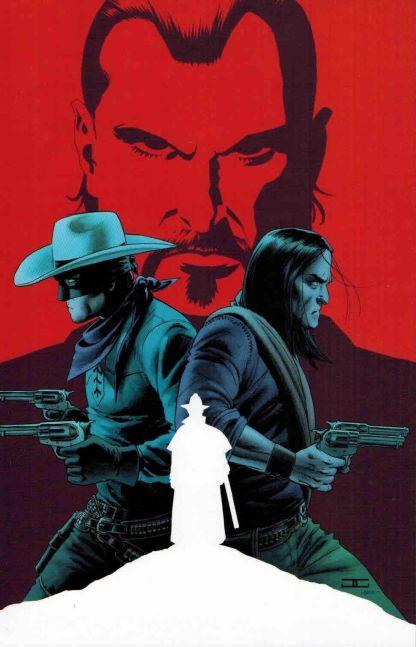 Lone Ranger #6 1:15 John Cassaday Virgin Art Variant Dynamite 2006