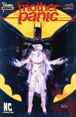 Mother Panic #1 NC Comicon Exclusive Edwards Variant DC Young Animal 2016