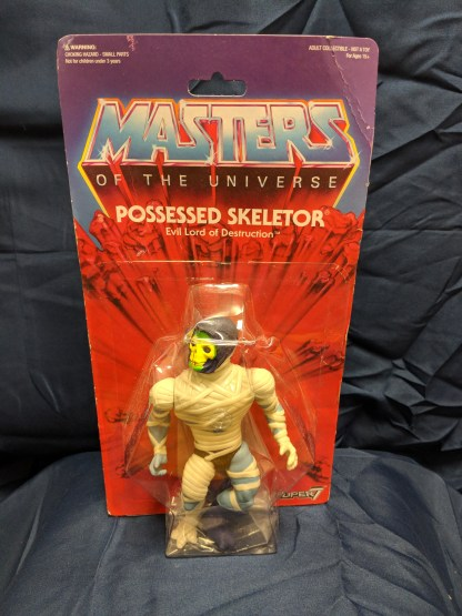 Masters of the Universe Vintage Collection Possessed Skeletor *Damaged Package*