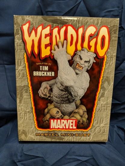 Marvel Designs 1970's Wendigo Tim Bruckner Mini Bust Statue Lmtd Ed 0034/1000