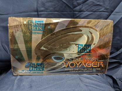 Skybox Star Trek Voyager Series One Collector Cards 1995 New & Factory Sealed