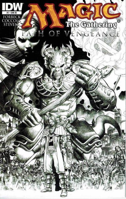 Magic: The Gathering - Path of Vengeance #1 Retailer Incentive Variant