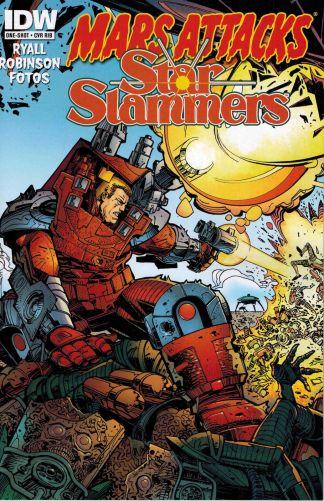 Mars Attacks Star Slammers #1 One-Shot Walter Simonson