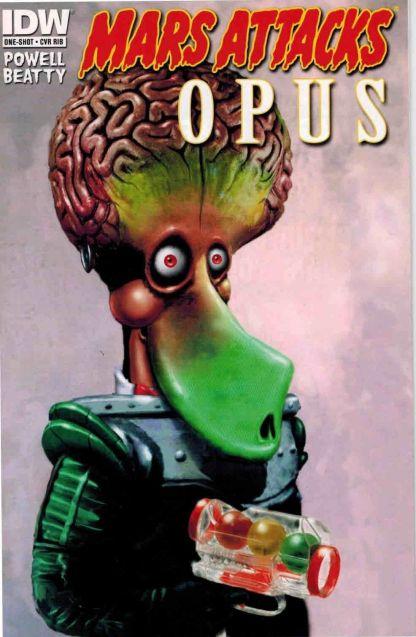 Mars Attacks Popeye #1 1:25 One-Shot Berkeley Breathed Opus Variant