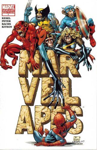 Marvel Apes #1 Ramon Bachs Variant