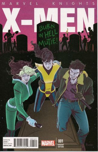 Marvel Knights X-Men #1 1:25 Paolo Rivera Variant