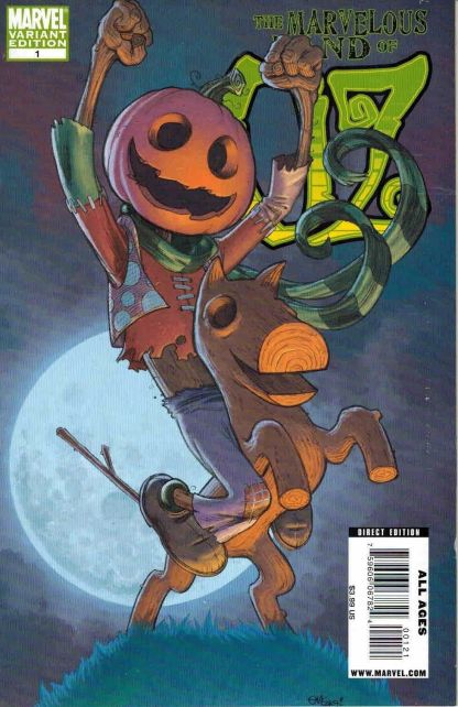 Marvelous Land of Oz #1 Ed McGuinness Dave Stewart Scarecrow Variant