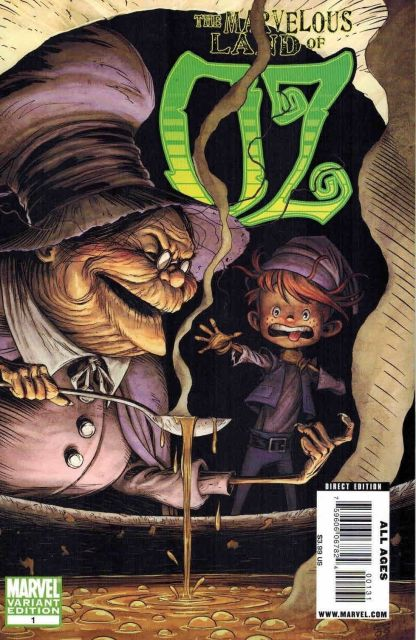 Marvelous Land of Oz #1 Eric Shanower Witch Variant