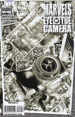 Marvels: Eye of the Camera #6 Black and White Variant