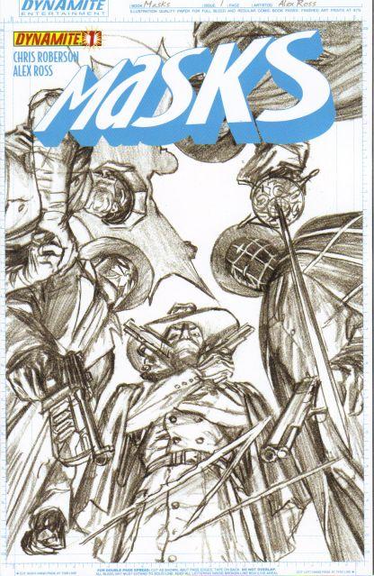 Masks #1 Alex Ross Sketch Variant