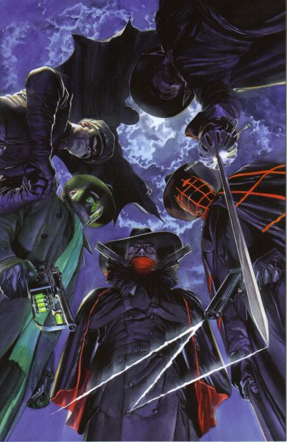 Masks #1 Alex Ross Virgin Art Variant the Shadow Green Hornet Zorro the Spider
