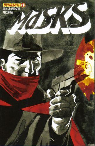 Masks #1 Ardian Syaf Shadow Wrap-Around Variant Alex Ross