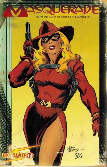 Masquerade #1 John Romita Alex Ross Variant Project Superpowers