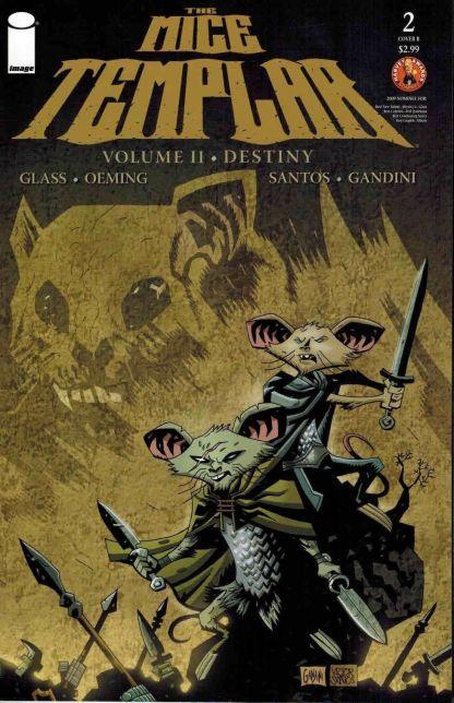 Mice Templar: Volume 2 - Destiny #2 Victor Santos Variant