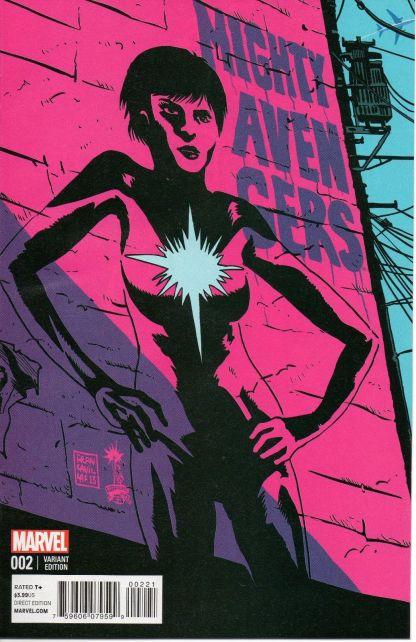 Mighty Avengers #2 1:50 Francavilla Variant