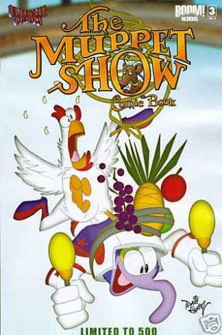 The Muppet Show #3 Ultimate Comics Exclusive Variant Boom 2009 Gonzo Camilla