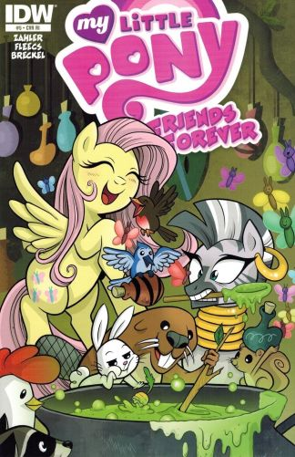 My Little Pony Friends Forever #4 Retailer Incentive Variant