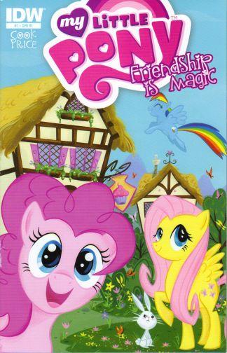 My Little Pony: Friendship is Magic #1 RI Variant Stephanie Buscema