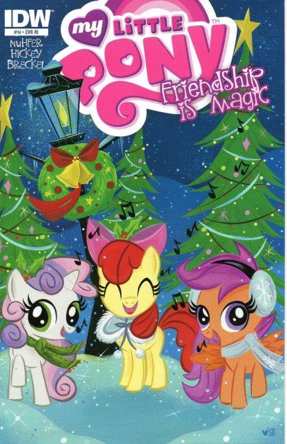 My Little Pony: Friendship is Magic #14 RI Stephanie Buscema Variant