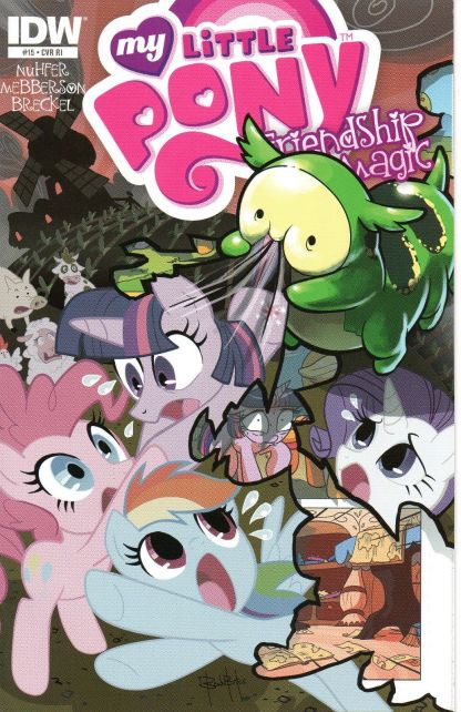My Little Pony: Friendship is Magic #15 Retailer Incentive Ben Bates Variant