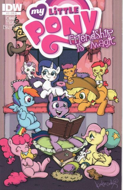 My Little Pony: Friendship is Magic #17 Katie Cook Retailer Incentive Variant