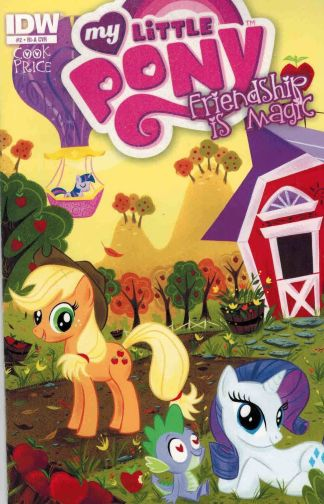 My Little Pony: Friendship is Magic #2 RI-A Stephanie Buscema Variant