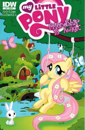 My Little Pony Friendship is Magic #21 Retailer Incentive Variant