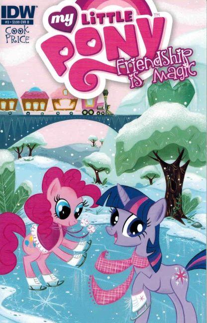 My Little Pony Friendship is Magic #3 Stephanie Buscema Cover B Variant IDW 2012
