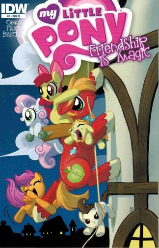 My Little Pony: Friendship is Magic #9 Amy Mebberson Retailer Incentive Variant