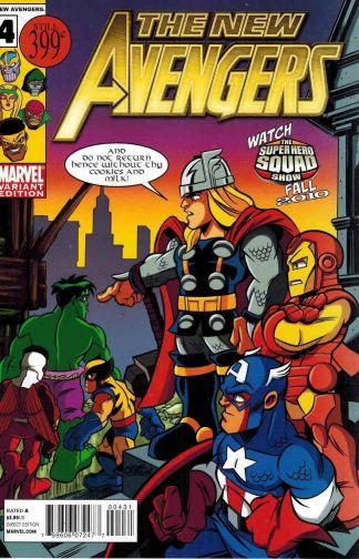 New Avengers #4 Super Hero Squad Variant