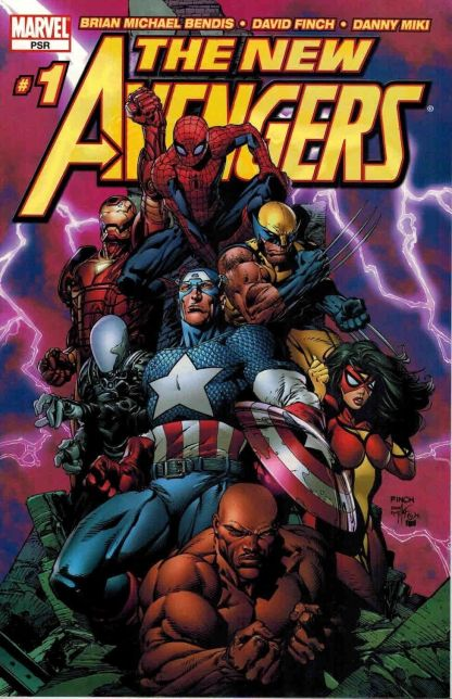 New Avengers (Vol. 1) #1 David Finch Variant