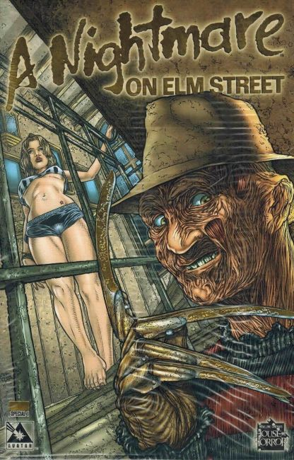Nightmare on Elm Street: Special #1 Gold Foil Variant Sealed w/COA