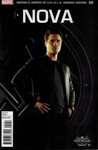 Nova #10 Agents of S.H.I.E.L.D. Photo Variant