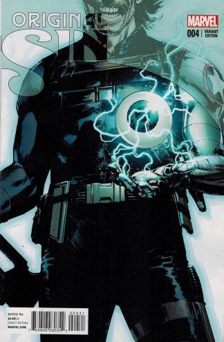 Original Sin #4 1:10 Butch Guice Winter Soldier Teaser Variant Marvel 2014