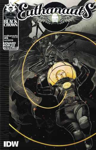 Euthanauts #5 1:10 Nick Robles Retailer Incentive RI Cover C Variant IDW 2018