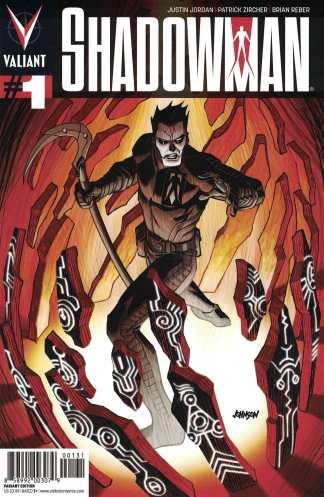 Shadowman #1 1:20 Dave Johnson Variant Cover C Valiant 2012