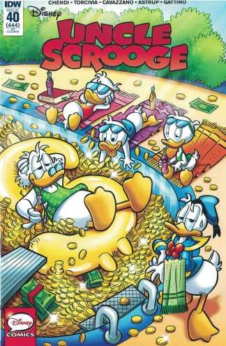 Uncle Scrooge #40 1:10 Retailer Incentive Variant RI IDW 2015 Disney