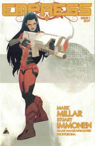 Empress #1 Stuart Immonen Variant Mark Millar Millarworld Marvel Icon 2016