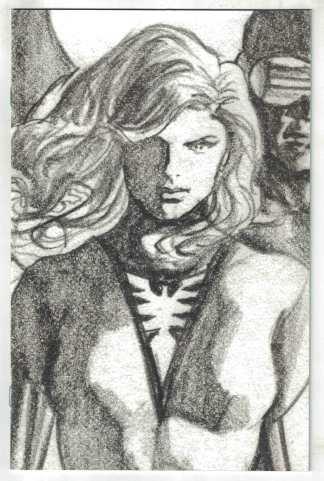 Hellions #5 1:100 Alex Ross Timeless Sketch Variant X of Swords Phoenix VF/NM