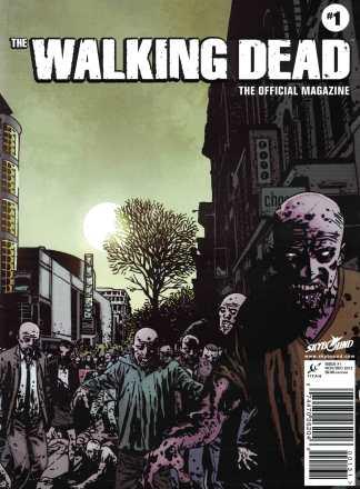 Walking Dead Magazine #1 Previews Exclusive PX Comic Variant Cover B Titan 2012