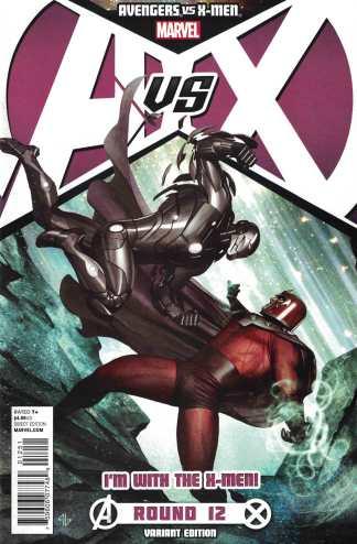 Avengers vs X-Men #12 Adi Granov Magneto Team X Variant Marvel 2012