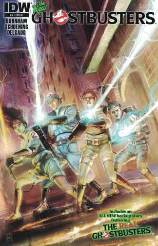 New Ghostbusters #1 1:10 Xermanico Retailer Incentive RI Variant IDW 2013