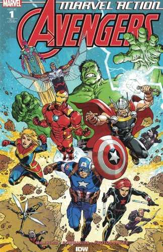 Marvel Action Avengers #1 1:50 Gabriel Rodriguez Variant RI-C IDW 2018