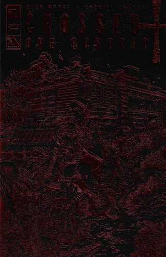 Crossed + One Hundred #1 Black Leather Red Foil Variant Avatar 2015 Alan Moore
