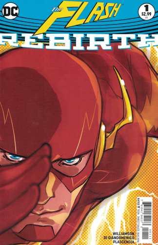 Flash Rebirth #1 One-Shot Cover A DC 2016 Godspeed