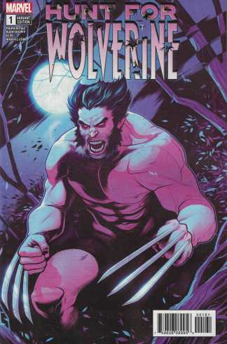 Hunt For Wolverine #1 1:25 Elisabeth Torque Variant Marvel 2018